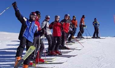 Oboz narciarski Alpy 2006