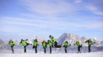 Szkola Narciarska  Dolomity Tour Falcade
